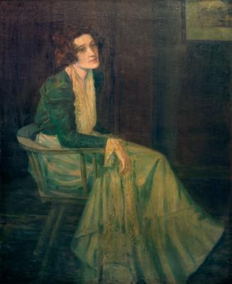 Hedda Eulenberg - Portrait - Julie Wolfthorn