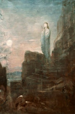 Helen on the Steps of Troy - Gustave Moreau