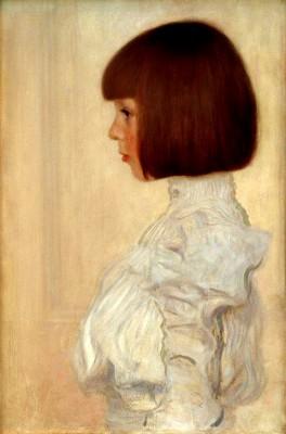 HELENE KLIMT PAINTING GUSTAV KLIMT - Gustav Klimt