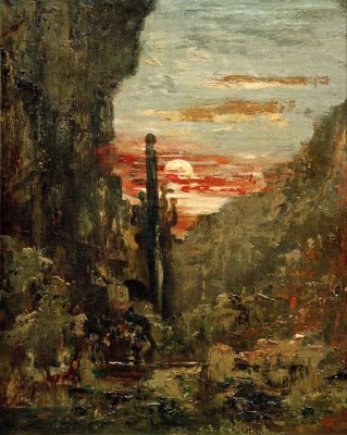 Hercules and the Hydra of Lerna - Gustave Moreau