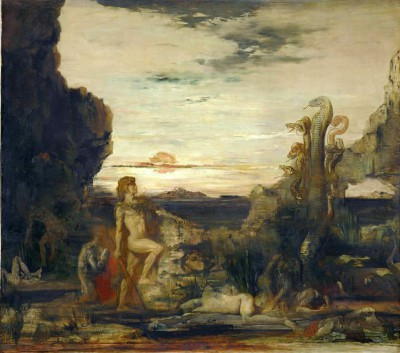 Hercules and the Hydra of Lernae - Gustave Moreau