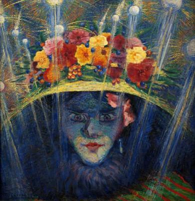 Idolo moderno - Umberto Boccioni