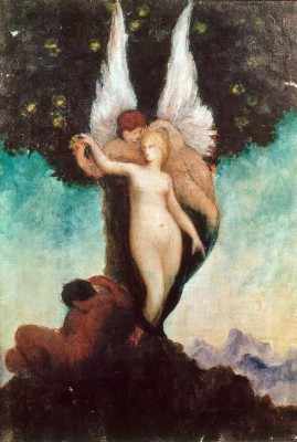 Imaginary mythological scene - Gustave Moreau