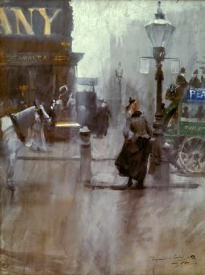 Impressions de Londres - Anders Zorn