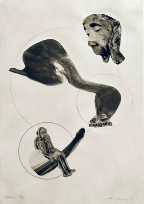 In God's ear - Collage - László Moholy-Nagy