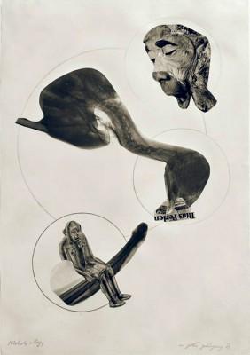 In God's ear - Collage - László Moholy-Nagy