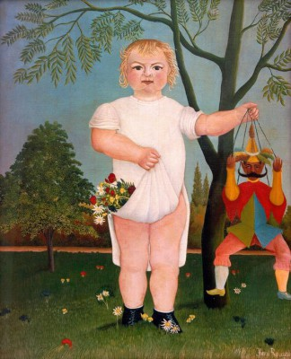 In Honour of the Baby - Henri Rousseau