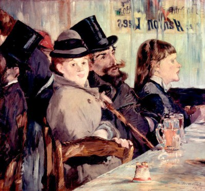 In the Cafe - Édouard Manet