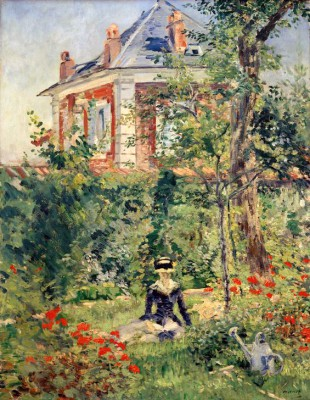 In the Garden of Bellevue - Édouard Manet