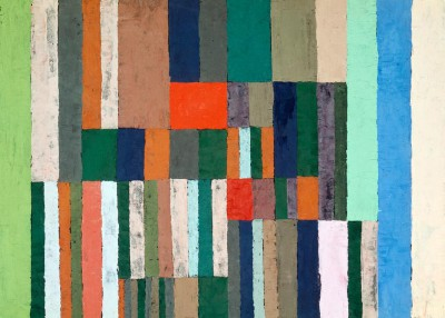 Individualized altimetry of stripes - Paul Klee