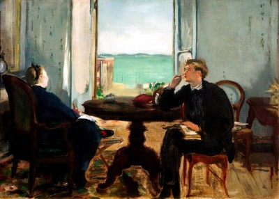 Interieur in Arcachon - Édouard Manet