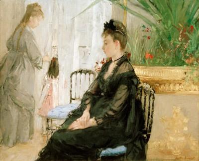 Interior - Berthe Morisot