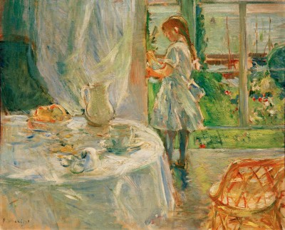 Interior of the holiday home on Jersey - Berthe Morisot