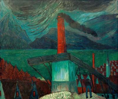 Iron foundry in Oberstdorf - Marianne von Werefkin
