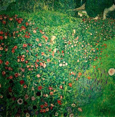 ITALIAN GARDEN LANDSCAPE - Gustav Klimt