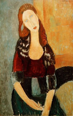 Jeanne Hébuterne seated - Amedeo Modigliani