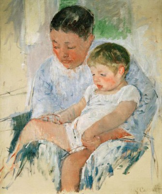 Jenny and her sleepy child - Mary Cassatt