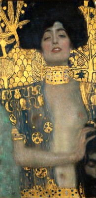JUDITH WITH THE HEAD OF HOLOFERNES - Gustav Klimt