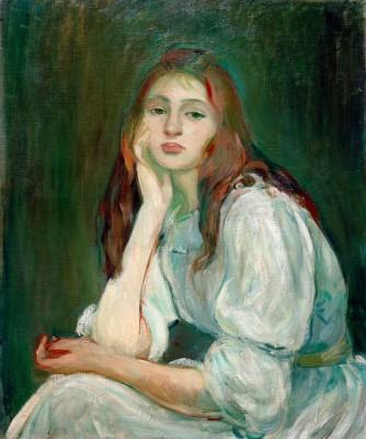 Julie dreaming - Berthe Morisot