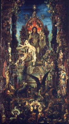 Jupiter and Semele - Gustave Moreau