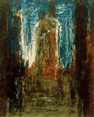 Jupiter and Semele-sketch - Gustave Moreau
