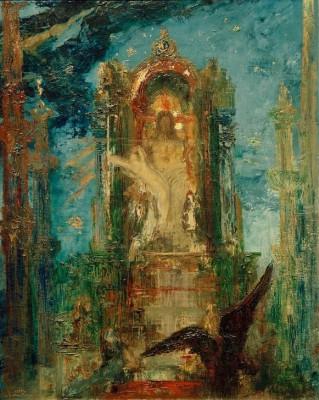 Jupiter und Semele - Gustave Moreau