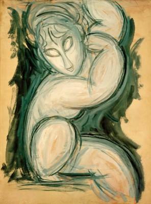 Karyatide (3) - Amedeo Modigliani
