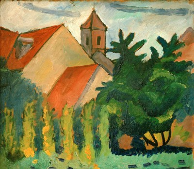 Kirche in Kandern - August Macke