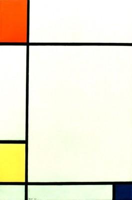 Komposition Nr. III; Komposition mit Rot, Gelb und Blau - Piet Mondrian