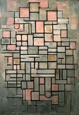 Komposition Nr. IV - Piet Mondrian