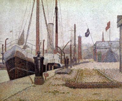 La 'Maria', Honfleur - Georges-Pierre Seurat