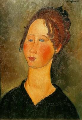 La Bourguignonne - Amedeo Modigliani