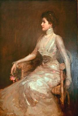 La Dame aux Perles - John Lavery