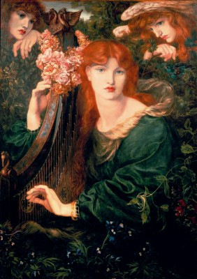 La Ghirlandata - Dante Gabriel Rossetti