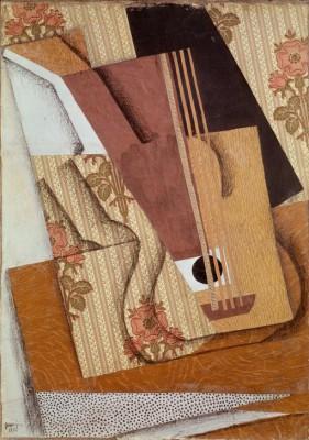 La guitare - Juan Gris