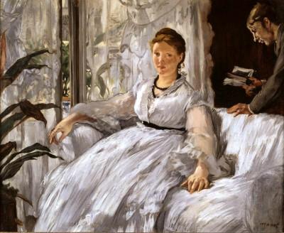 La lecture - Édouard Manet