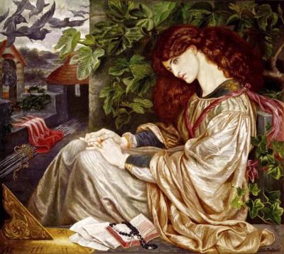 La Pia - Dante Gabriel Rossetti