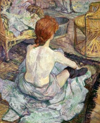 La Toilette - Henri de Toulouse-Lautrec