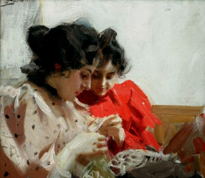 Lacy Seam - Anders Zorn