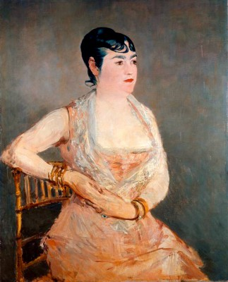 Lady in Pink - Édouard Manet