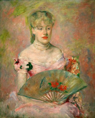 Lady with a Fan - Mary Cassatt