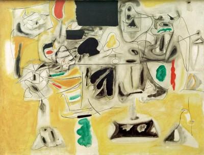 Landscape -Table - Arshile Gorky