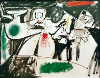 Last Painting (The black Monk) - Arshile Gorky