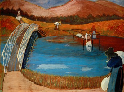 Laundresses - Marianne von Werefkin