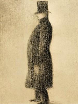 Le Haut de forme - Georges-Pierre Seurat