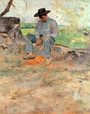 Le jeune Routy à Céleyran - Henri de Toulouse-Lautrec