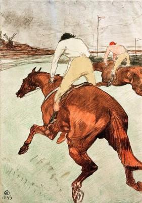 Le Jockey - Henri de Toulouse-Lautrec