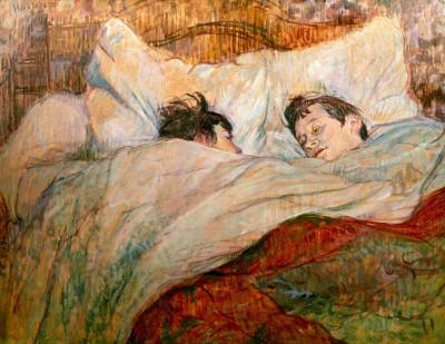 Le lit - Henri de Toulouse-Lautrec