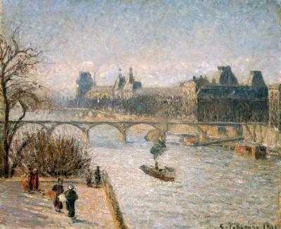 Le Louvre - Camille Pissarro