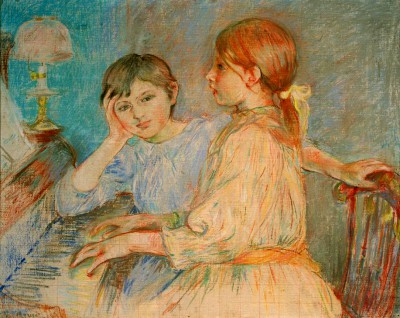 Le piano - Berthe Morisot